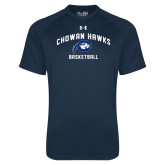 Under Armour Navy Tech Tee-Chowan Basketball