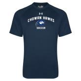 Under Armour Navy Tech Tee-Chowan Soccer