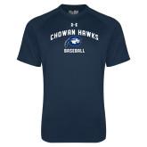 Under Armour Navy Tech Tee-Chowan Baseball