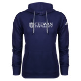 Adidas Climawarm Navy Team Issue Hoodie-Horizontal Primary Mark