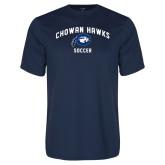 Performance Navy Tee-Chowan Soccer