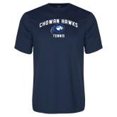 Performance Navy Tee-Chowan Tennis