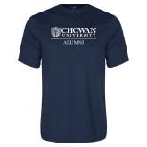 Performance Navy Tee-Chowan Alumni