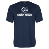 Performance Navy Tee-Chowan Hawks Tennis