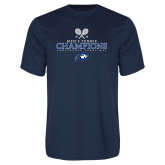 Performance Navy Tee-2018 Mens Tennis Champions