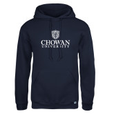 Russell DriPower Navy Fleece Hoodie-Primary Mark