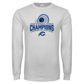 White Long Sleeve T Shirt-2018 Womens Tennis Champions