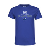 Youth Royal T Shirt-2018 Mens Tennis Champions