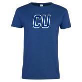 Ladies Royal T Shirt-CU Mark