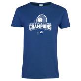 Ladies Royal T Shirt-2018 Womens Tennis Champions