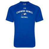 Under Armour Royal Tech Tee-Chowan Football