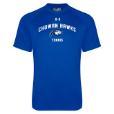 Under Armour Royal Tech Tee-Chowan Tennis