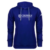 Adidas Climawarm Royal Team Issue Hoodie-Horizontal Primary Mark