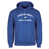 Royal Fleece Hoodie-Chowan Womens Swimming