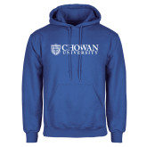 Royal Fleece Hoodie-Horizontal Primary Mark