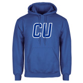 Royal Fleece Hoodie-CU Mark