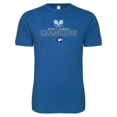 Next Level SoftStyle Royal T Shirt-2018 Mens Tennis Champions