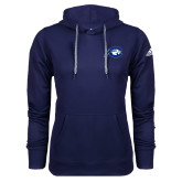 Adidas Climawarm Navy Team Issue Hoodie-Mascot Logo