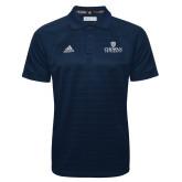 Adidas Climalite Navy Jacquard Select Polo-Primary Mark
