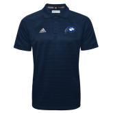 Adidas Climalite Navy Jacquard Select Polo-Mascot Logo