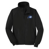 Black Charger Jacket-Mascot Logo