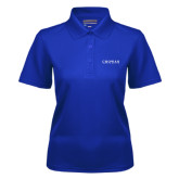 Ladies Royal Dry Mesh Polo-Chowan University Stacked
