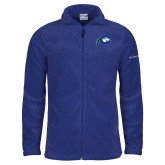 Columbia Full Zip Royal Fleece Jacket-Mascot Logo