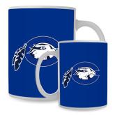 Full Color White Mug 15oz-Mascot Logo