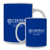 Alumni Full Color White Mug 15oz-Chowan Alumni