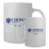 Mom Full Color White Mug 15oz-Chowan Mom