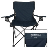 Deluxe Navy Captains Chair-Chowan Mom