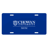 License Plate-Chowan Mom