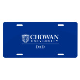 License Plate-Chowan Dad