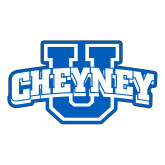 Large Decal-Cheyney U, 12in Wide