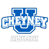 Alumni Decal-Alumni, 6in Wide