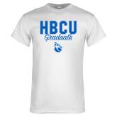 White T Shirt-HBCU Graduate