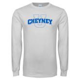 White Long Sleeve T Shirt-Cheyney U