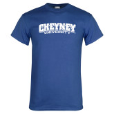 Royal T Shirt-Cheyney University