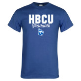 Royal T Shirt-HBCU Graduate