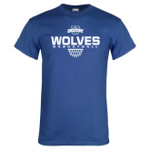Royal T Shirt-Sharp Net Basketball
