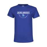 Youth Royal T Shirt-Volleyball Under Bar