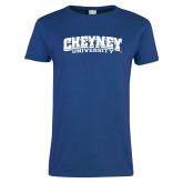 Ladies Royal T Shirt-Cheyney University