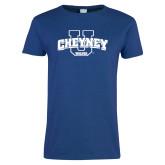 Ladies Royal T Shirt-Cheyney U Wolves