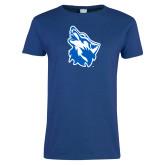 Ladies Royal T Shirt-Wolf Head