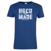Ladies Royal T Shirt-HBCU Made