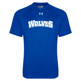 Under Armour Royal Tech Tee-Wolves