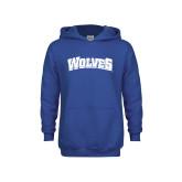Youth Royal Fleece Hoodie-Wolves