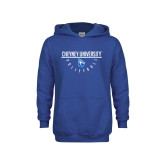 Youth Royal Fleece Hoodie-Volleyball Under Bar