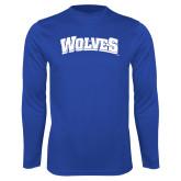 Performance Royal Longsleeve Shirt-Wolves