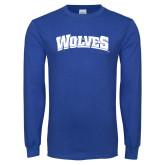 Royal Long Sleeve T Shirt-Wolves